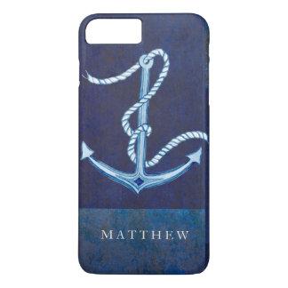 Nautical Boat Anchor, Sailing Ocean Sea Mens iPhone 8 Plus/7 Plus Case