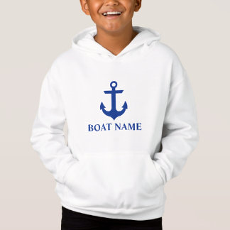 Nautical Boat Name Anchor Kids