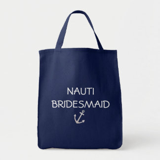 Nautical Bridesmaid Tote