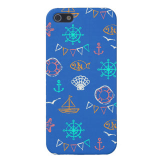 Nautical Chalk Drawing Pattern 1 Case For The iPhone 5