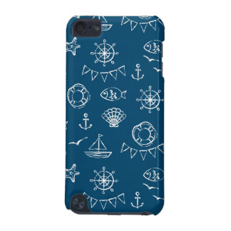 Nautical Chalk Drawing Pattern 2 iPod Touch 5G Case
