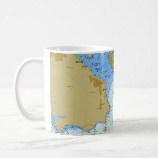 Nautical Chart Coffee Mug