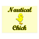 Nautical Chick Post Cards