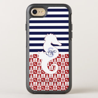 Nautical Christmas OtterBox Symmetry iPhone 8/7 Case
