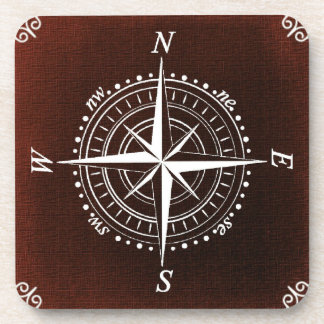 Nautical Compass Coaster
