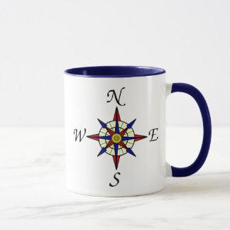 Nautical Compass Mug