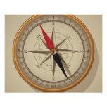 Nautical Compass Steampunk Posters