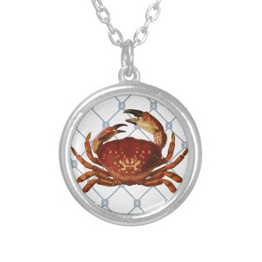 Nautical Crab Custom Jewelry