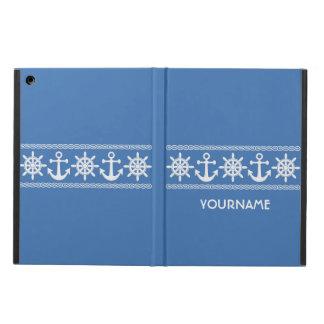 Nautical custom monogram cases