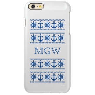 Nautical custom monogram cases