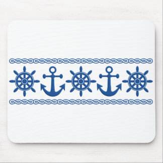 Nautical custom mousepad