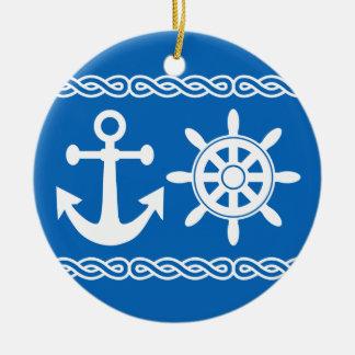 Nautical custom ornament