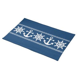 Nautical custom placemat