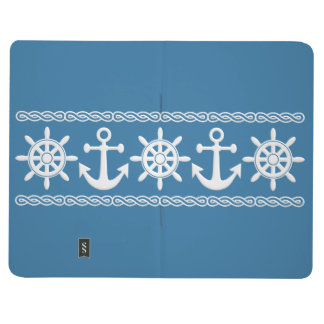 Nautical custom pocket journal