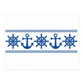 Nautical custom postcard