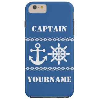 Nautical custom text & color cases