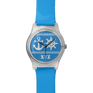 Nautical custom watches