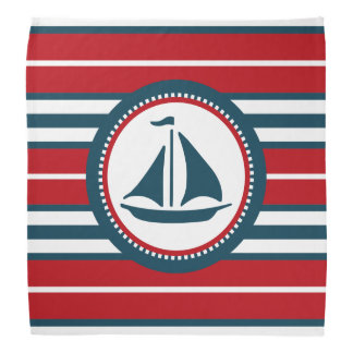 Nautical design bandana