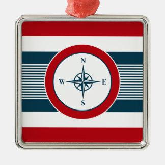 Nautical design christmas ornament