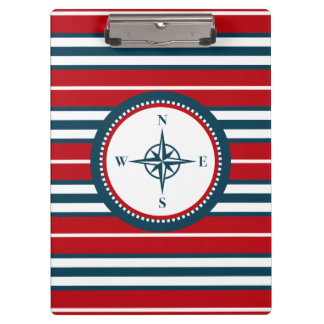 Nautical design clipboard