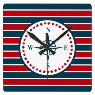 Nautical design clocks