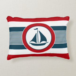 Nautical design decorative cushion