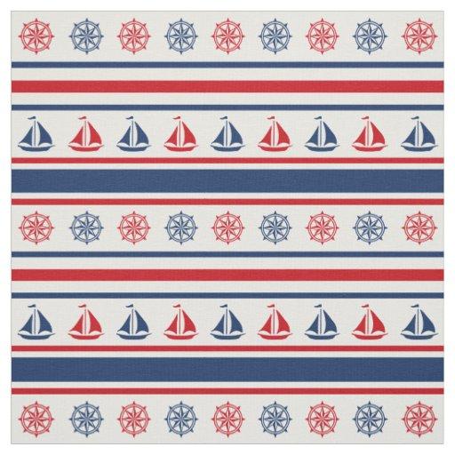 Art Décor: Nautical Design Fabric