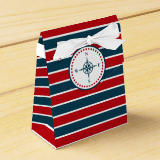 Nautical design favour box