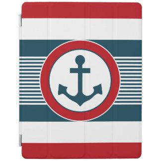 Nautical design iPad cover