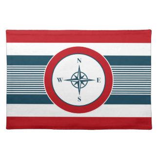Nautical design placemat