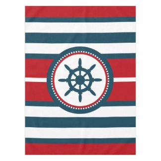 Nautical design tablecloth