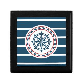 Nautical design trinket box