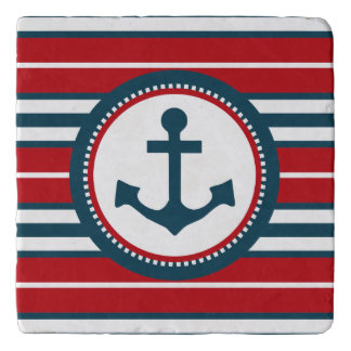Nautical design trivet
