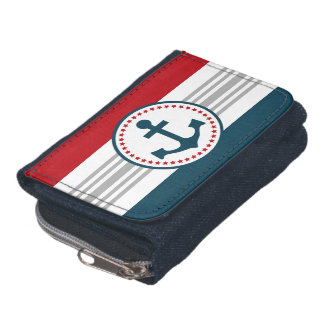 Nautical design wallet