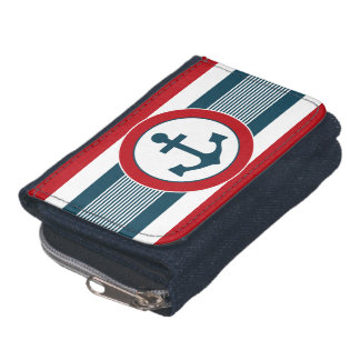 Nautical design wallets