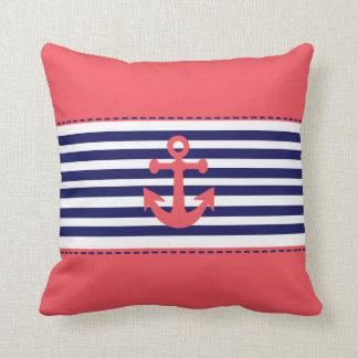 nautical desing throw cushions