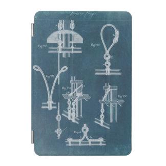 Nautical Detail Blueprint IV iPad Mini Cover