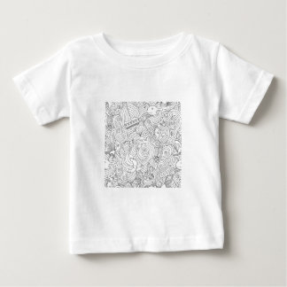 Nautical Doodle Baby T-Shirt