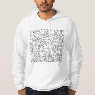 Nautical Doodle Hoodie