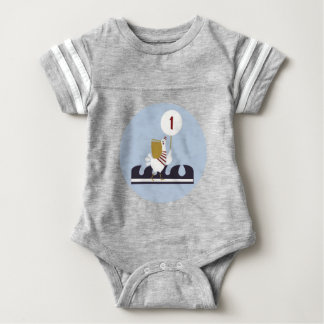 Nautical First Birthday Bodysuit Outfit