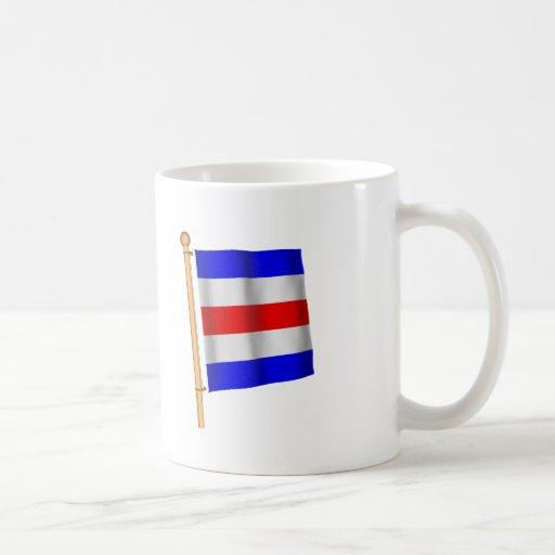 Nautical Flag 'C' Classic White Coffee Mug