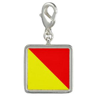 "Nautical Flag Signal Code Letter O ""October"""
