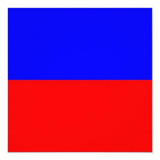 Nautical Flag Signal Echo Letter E 13 Cm X 13 Cm Square Invitation Card