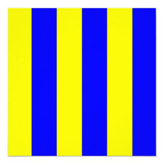 Nautical Flag Signal Golf Letter G 13 Cm X 13 Cm Square Invitation Card
