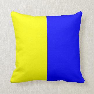 Nautical Flag Signal Letter K Cushion