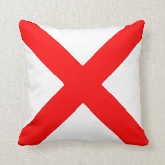 Nautical Flag Signal Letter V Victor Cushion