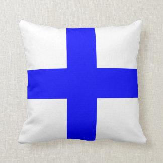 Nautical Flag Signal Letter X Xray Throw Pillows