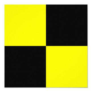 Nautical Flag Signal Lima Letter L 13 Cm X 13 Cm Square Invitation Card