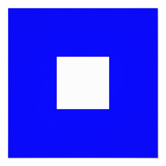 Nautical Flag Signal Papa Letter P 13 Cm X 13 Cm Square Invitation Card