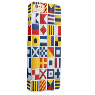 Nautical Flags Barely There iPhone 6 Plus Case